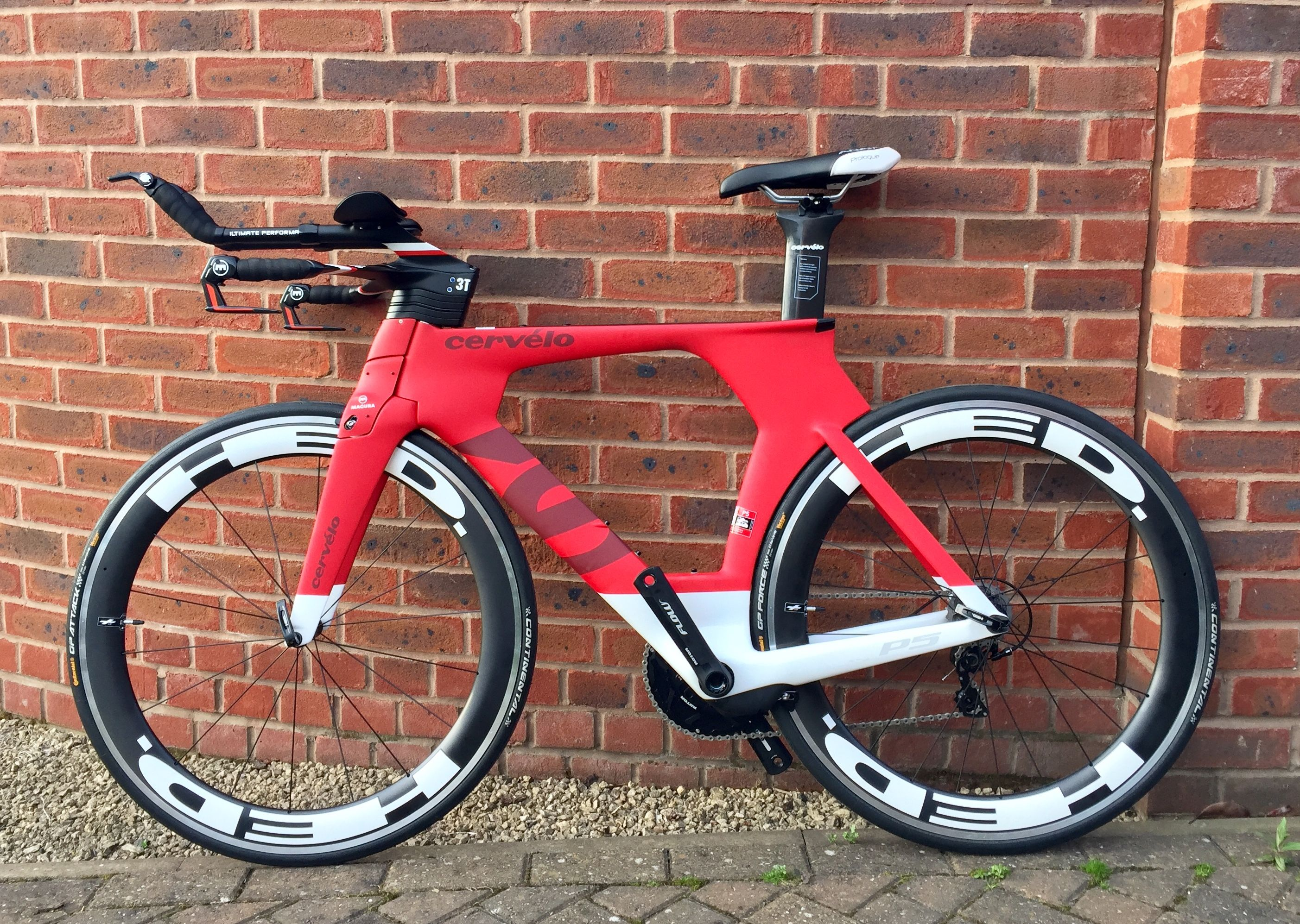 Cervelo P5 Custom Bicycle Trial Bike Road Bike