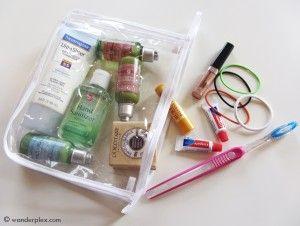 Toiletries Shampoo Conditioner Dry Shampoo Toothbrush