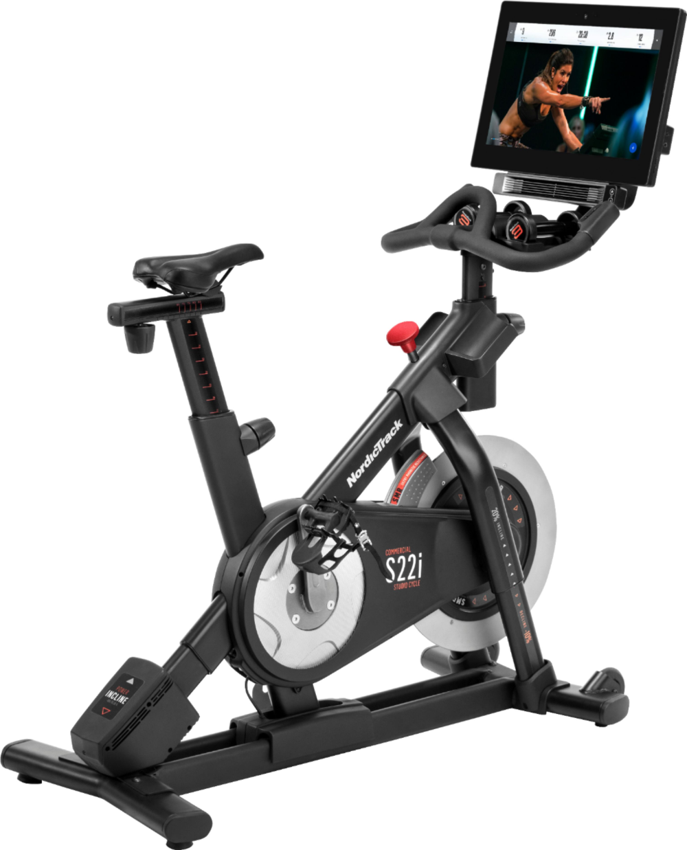 Nordictrack Commercial S22i Studio Cycle Black Ntex02117 With