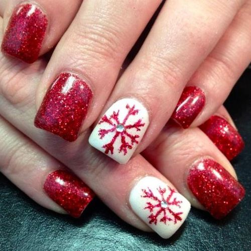 Diy christmas nail art 50 christmas nail designs you can do diy christmas nail art 50 christmas nail designs you can do yourself diy christmas and winter nails solutioingenieria Image collections