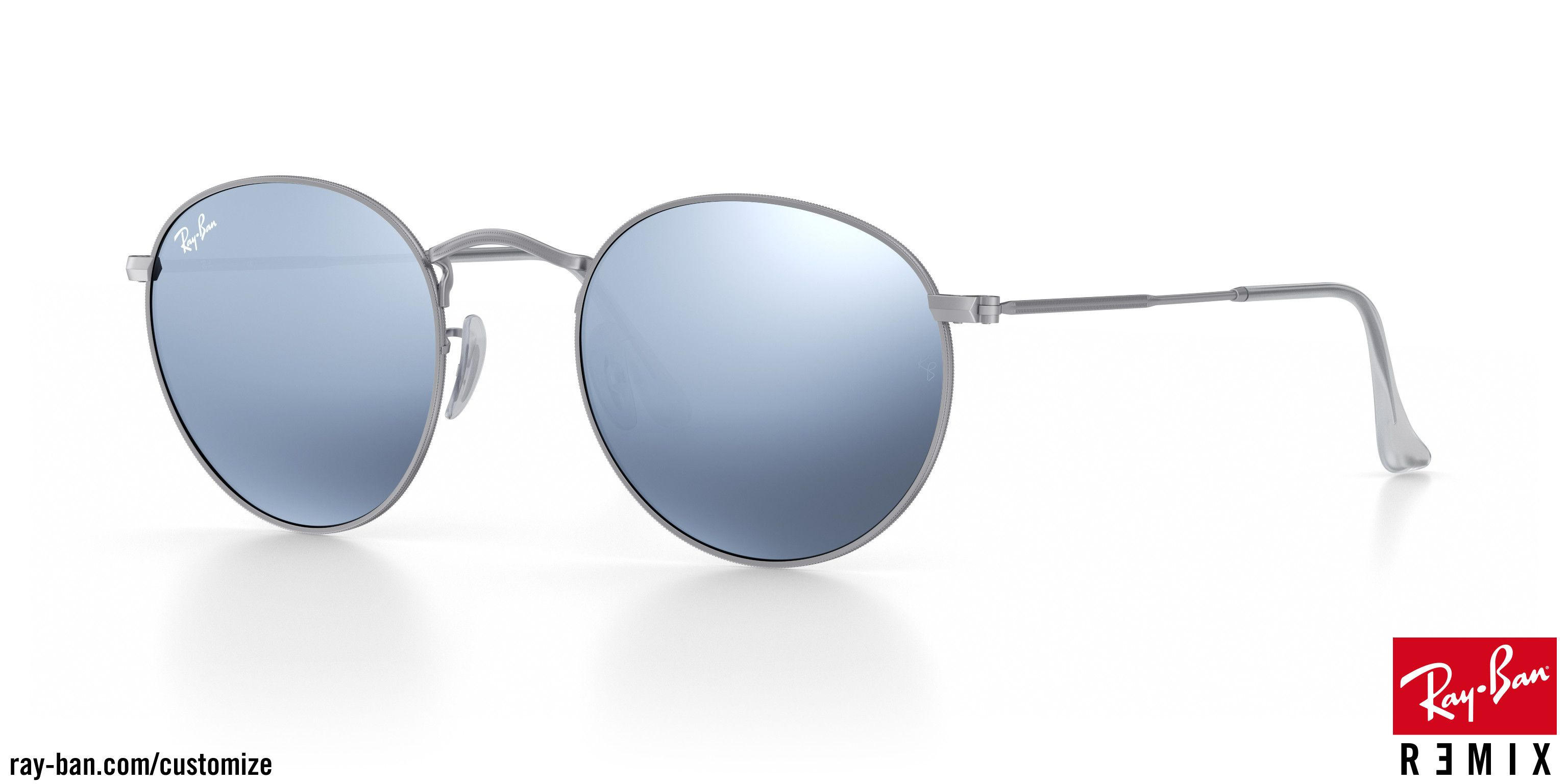 fa15fa0c1259e3 Look who s looking at this new Ray-Ban round metal sunglasses ...