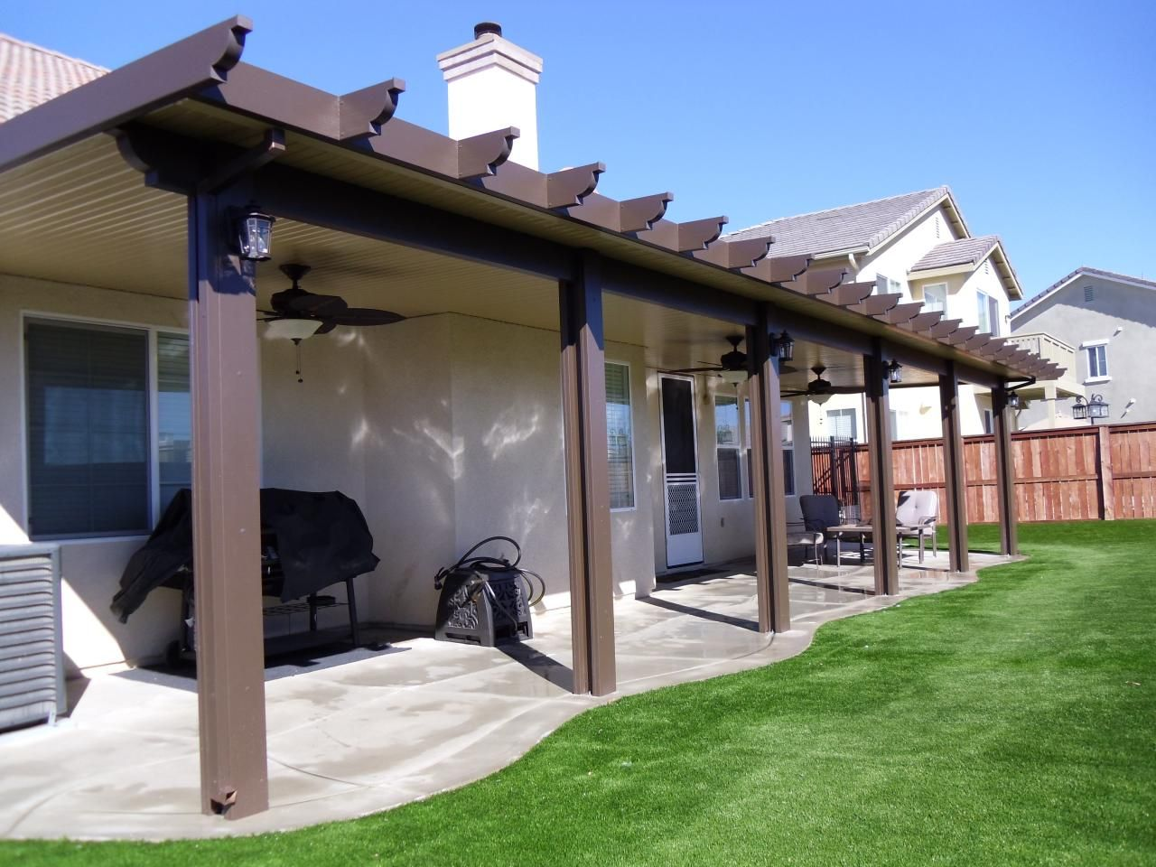 Alumawood patio cover amazing decoration 68467 decorating for Small patio shade ideas