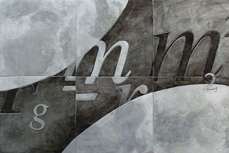 Shoply.com -Gravity etched metal artwork. Only $800.00