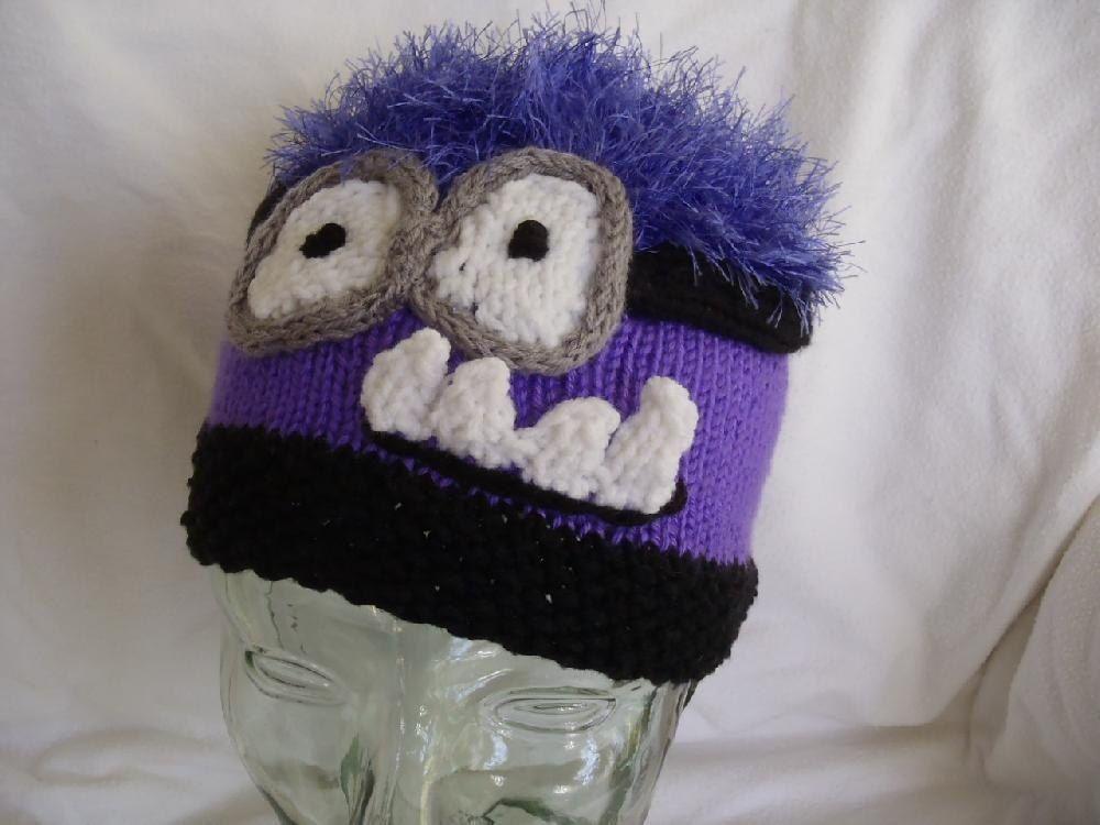 Free Knitting Pattern Minion Hat Evil Version Magic Of