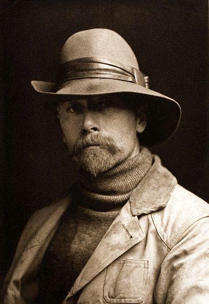 Edward S. Curtis, Self-portrait, 1899.