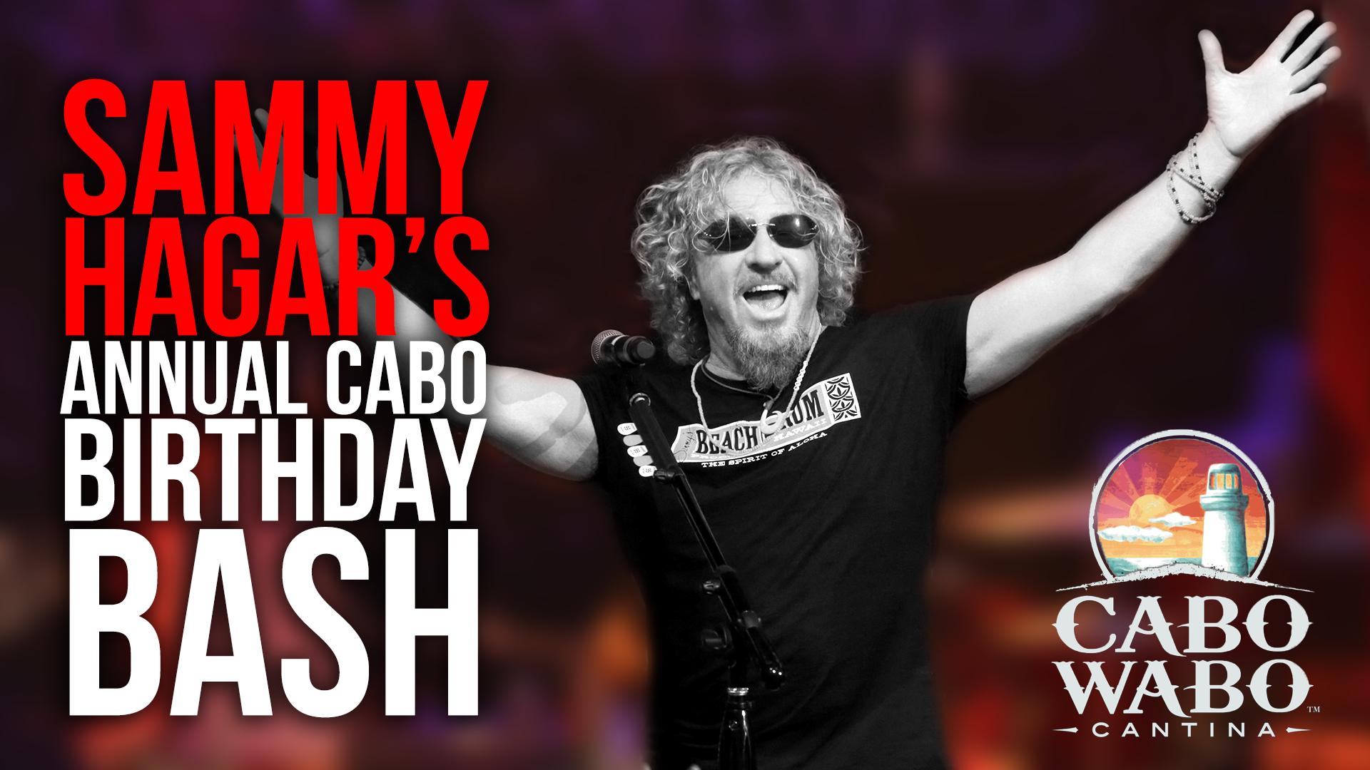 2016 10 13 Cabo Wabo Cantina Birthday Bash Night 4 Sammy Hagar Rock Music History When The Levee Breaks