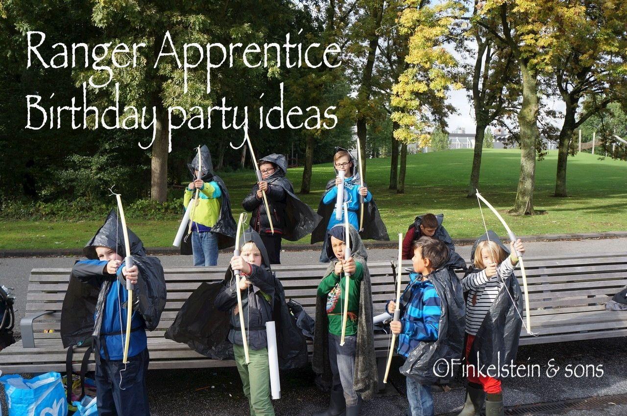 Ranger Apprentice birthaday party ideas