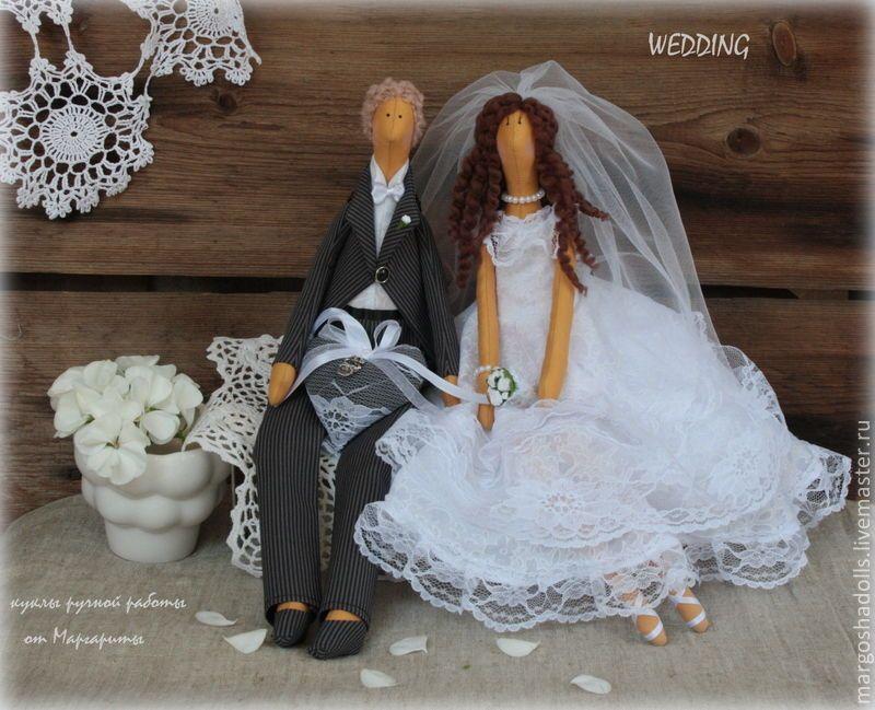 Свадебные куклы-тильды