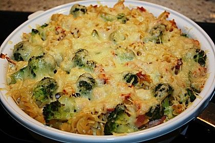 Photo of Pasta bake with broccoli and ham by kochhexe6 | Chefk …