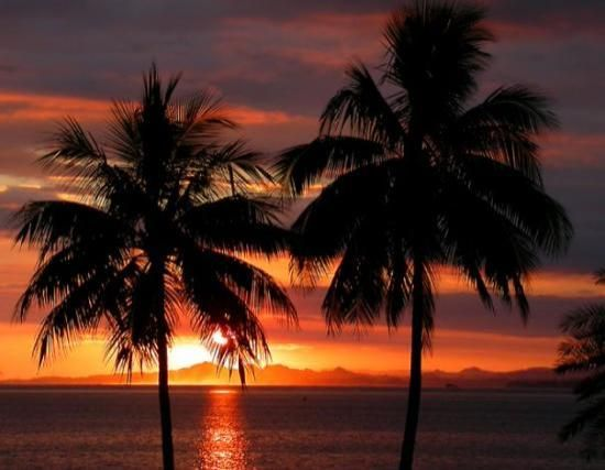 A Beautiful Sunset At Suva Harbour Fiji With Images Fiji