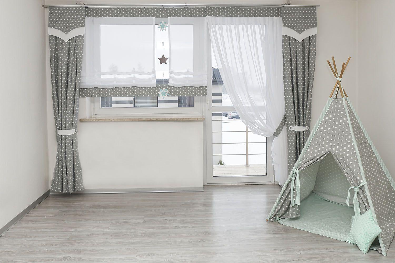 Okno Balkonowe W Pokoju Dziecka Firany W Pokoju