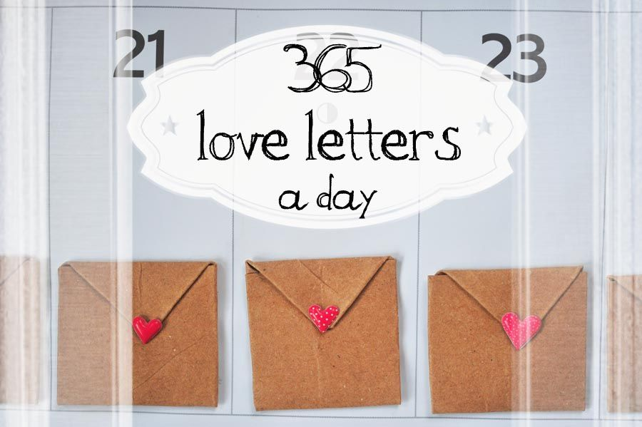 365 days of love letters diy gift idea domestic geek girl 365 days of love letters diy gift idea spiritdancerdesigns Image collections