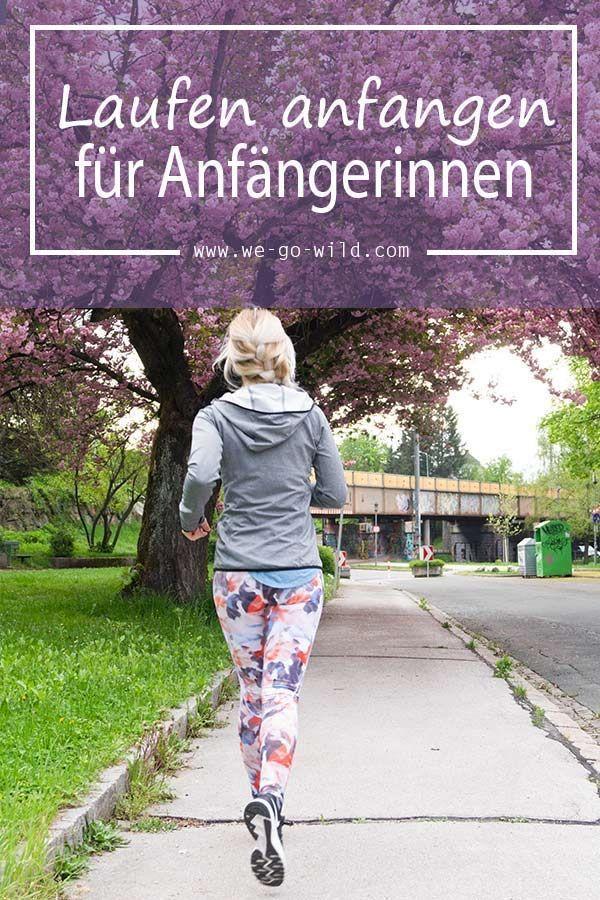 Du willst mit Laufen anfangen? Wir zeigen dir wie richtig laufen kannst und wie du es mit unserem La...