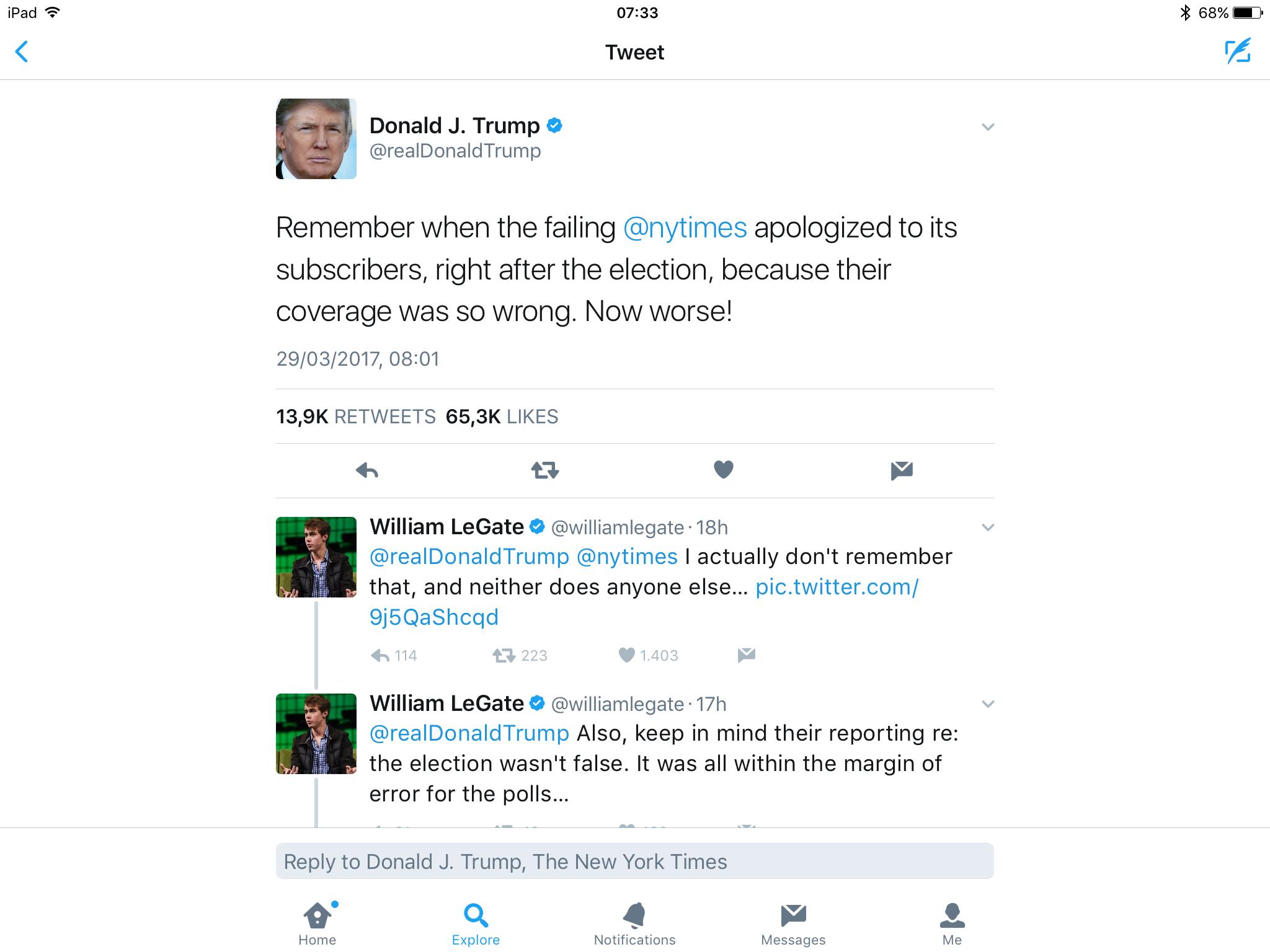 Afbeelding Van Terrible Trump Tweets Door Indigo Jones