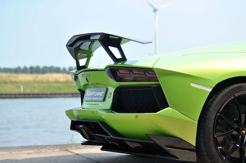 Superieur Novitec Torado Rear Wing On Lamborghini Aventador