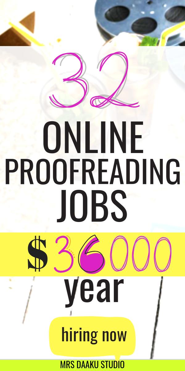 33 Online Proofreading Jobs For Beginners Make Money Online