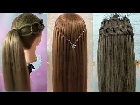 Youtube Peinados Trenzas Con Ligas Peinados Para Ninas
