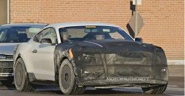 2015 Ford Mustang GT350 spy shots