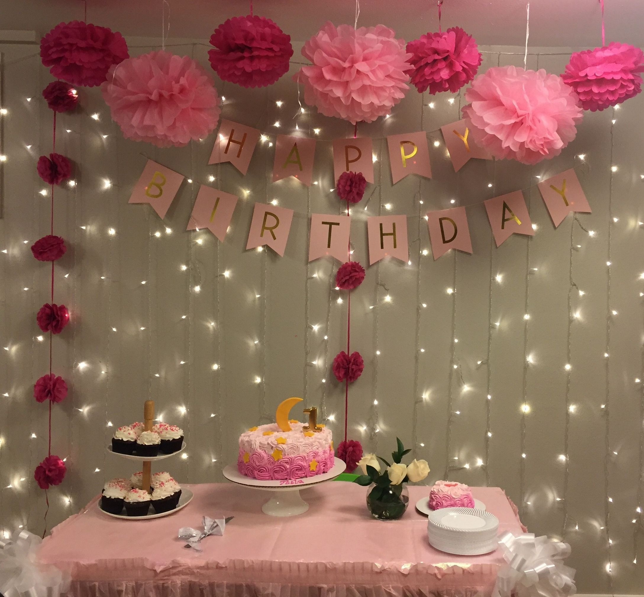 49 Creative And Easy Birthday Party Decoration Ideas Trend 2020 Easy Birthday Party Decorations Simple Birthday Party Simple Birthday Decorations