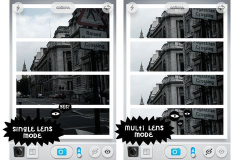 Grid Lens app for iphone & ipad