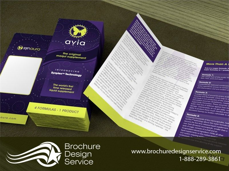 Pamphlet For Supplement Design Ideas Templates Inspiration