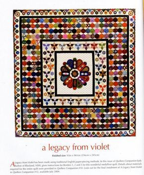 A Legacy from Violet. Quilt published in an Australian quilt ... : australian quilt magazines - Adamdwight.com