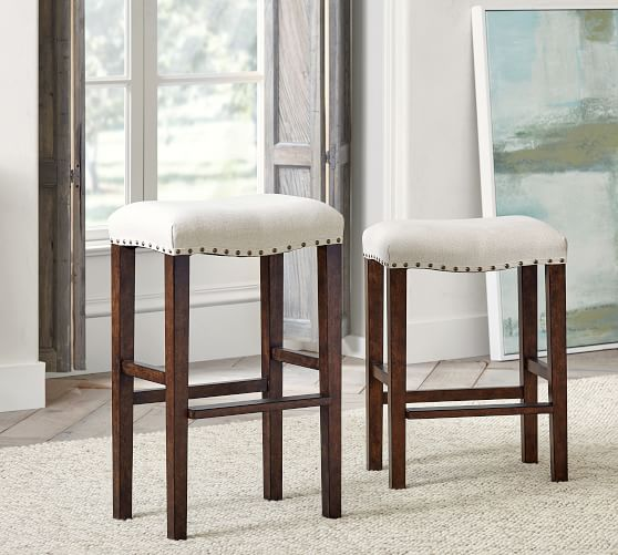 Manchester Backless Upholstered Bar Amp Counter Stools Rattan