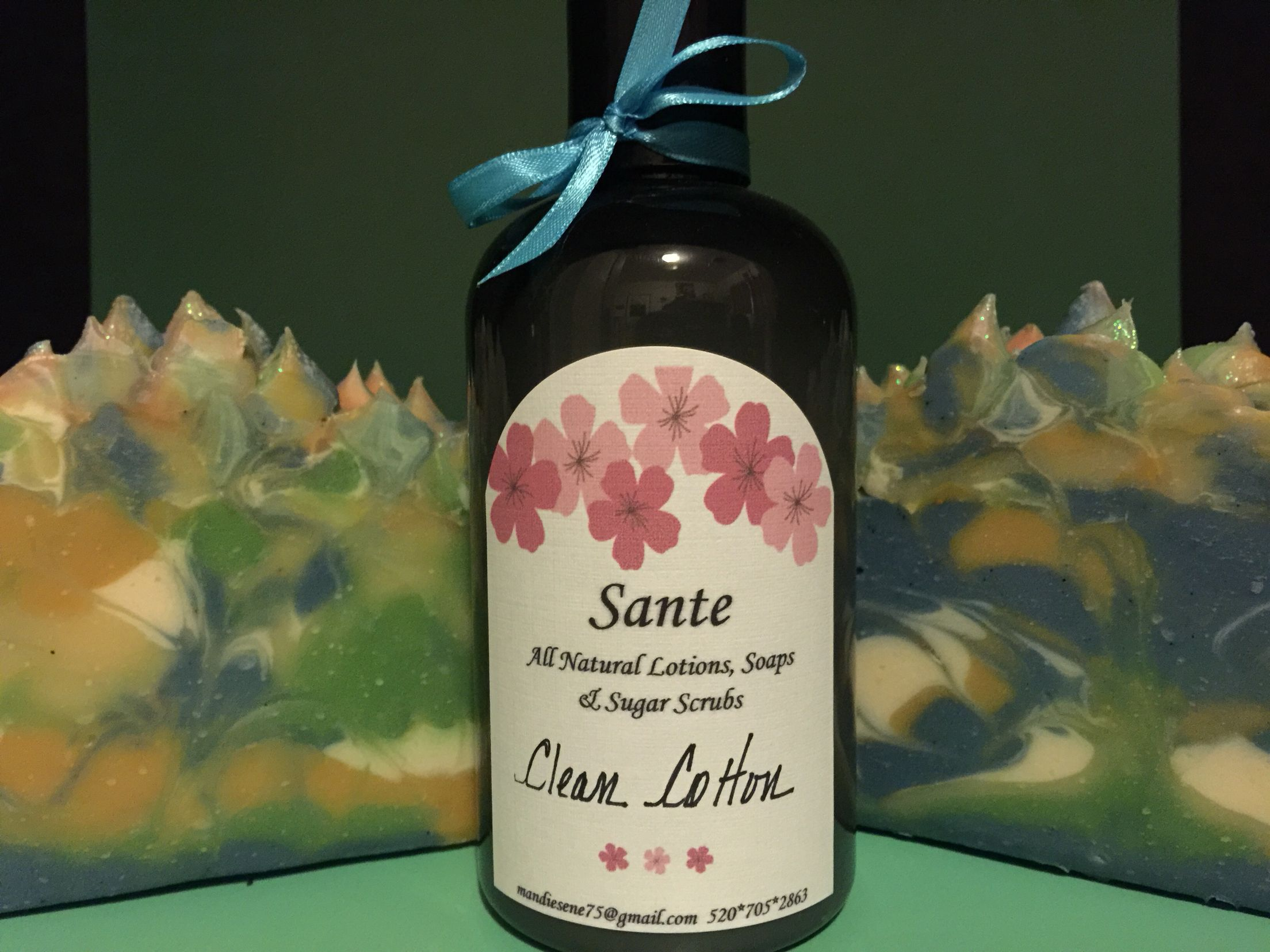 Clean Cotton Lotion and Soap