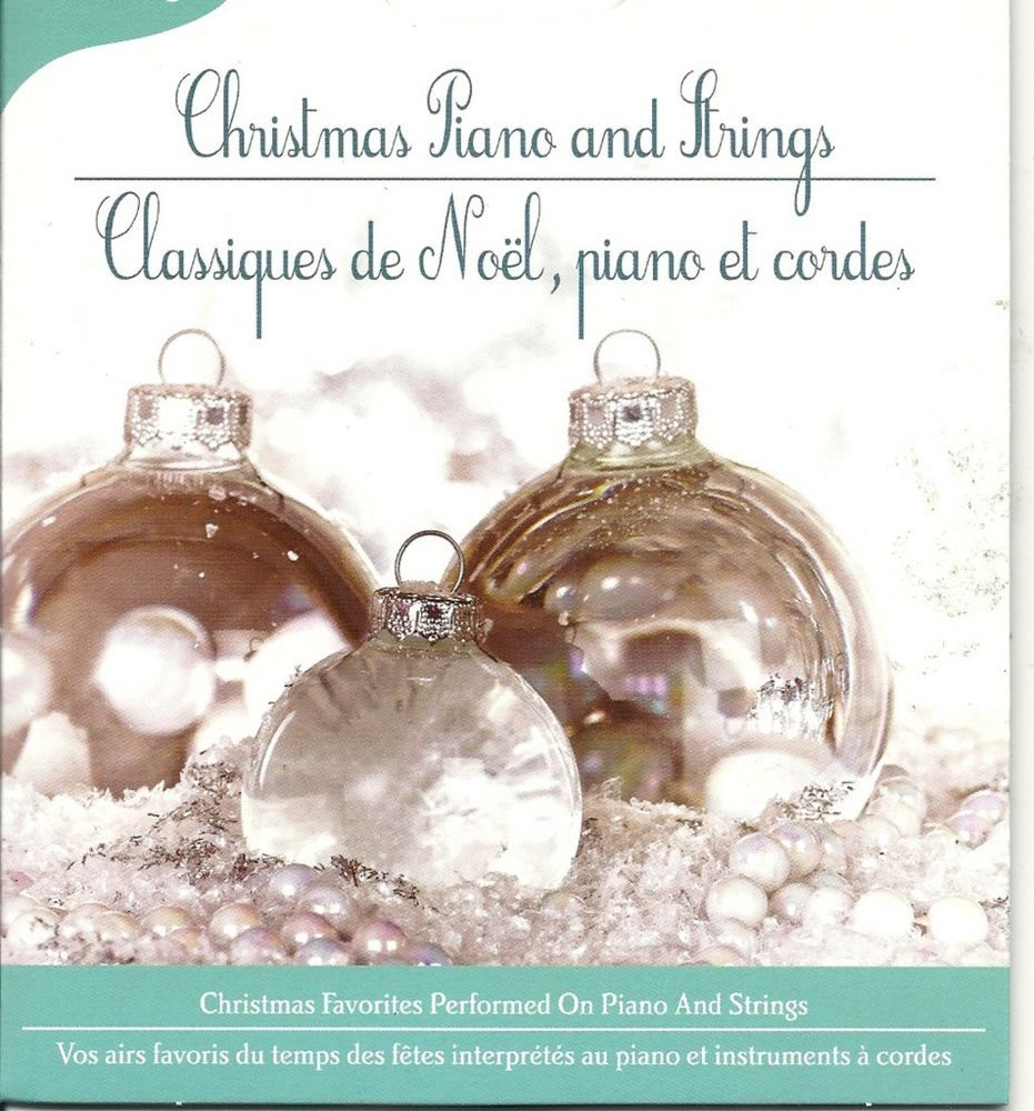 CHRISTMAS PIANO AND STRINGS FAVORITE SONGS HAPPY HOLIDAY SEASON ...