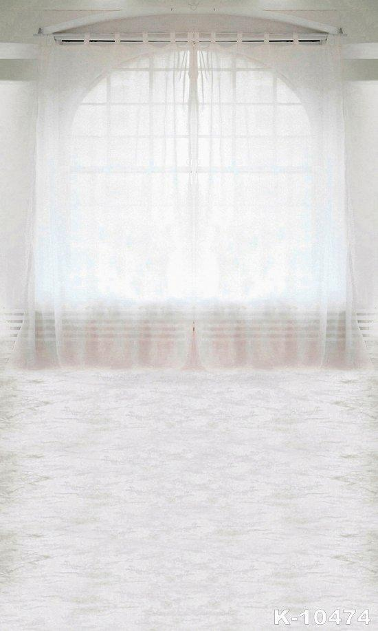 Life Magic Box Vinyl Backdrop Window Photography Backdrops White