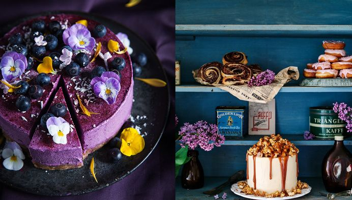 cake, dessert, styling, beauty