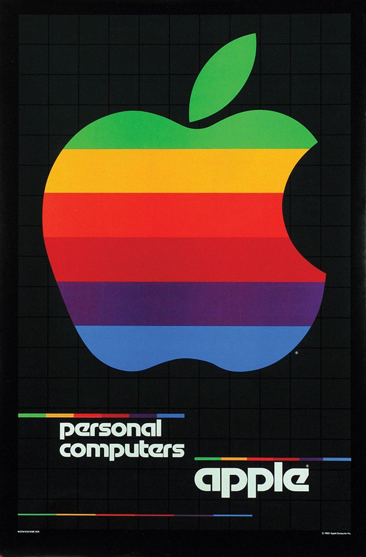 Poster by Rob Janoff & Steve P. Jobs (19552011) Apple
