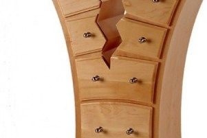 Straight Line Designs - Dressers -  Cracked