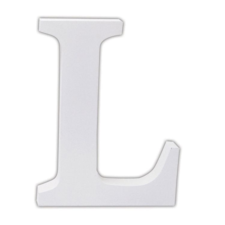 Large block letters chunky white alphabet letter l for Large block letters