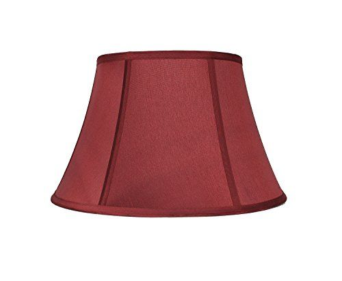 Urbanest Softback Bell Lampshade Faux Silk 12inch Burgundy Spider You Can Get Additional Details At The Image Lin Lamp Shade Light Shades Light Accessories
