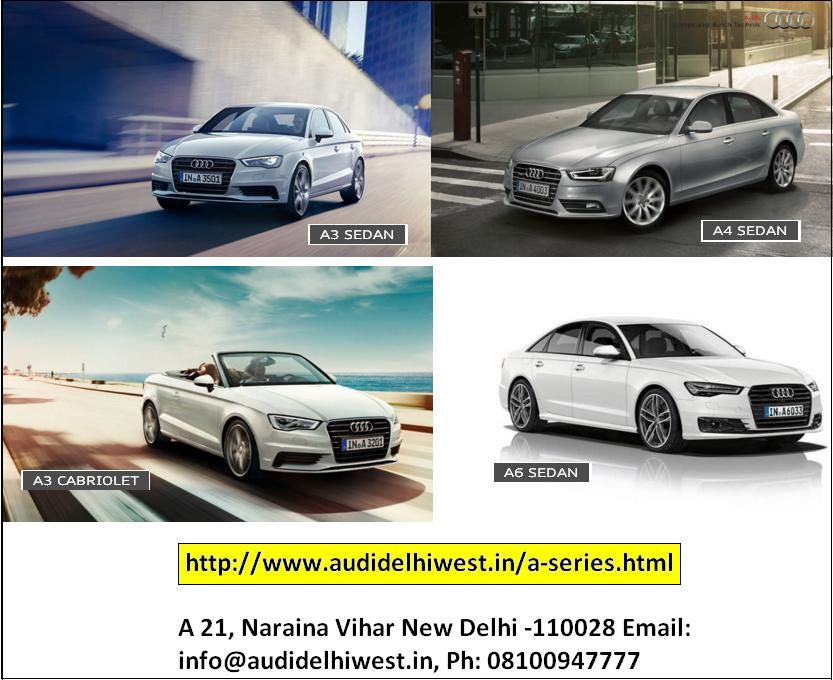 Buy latest Audi Cars in West Delhi at Audi Delhi West. We are the ...