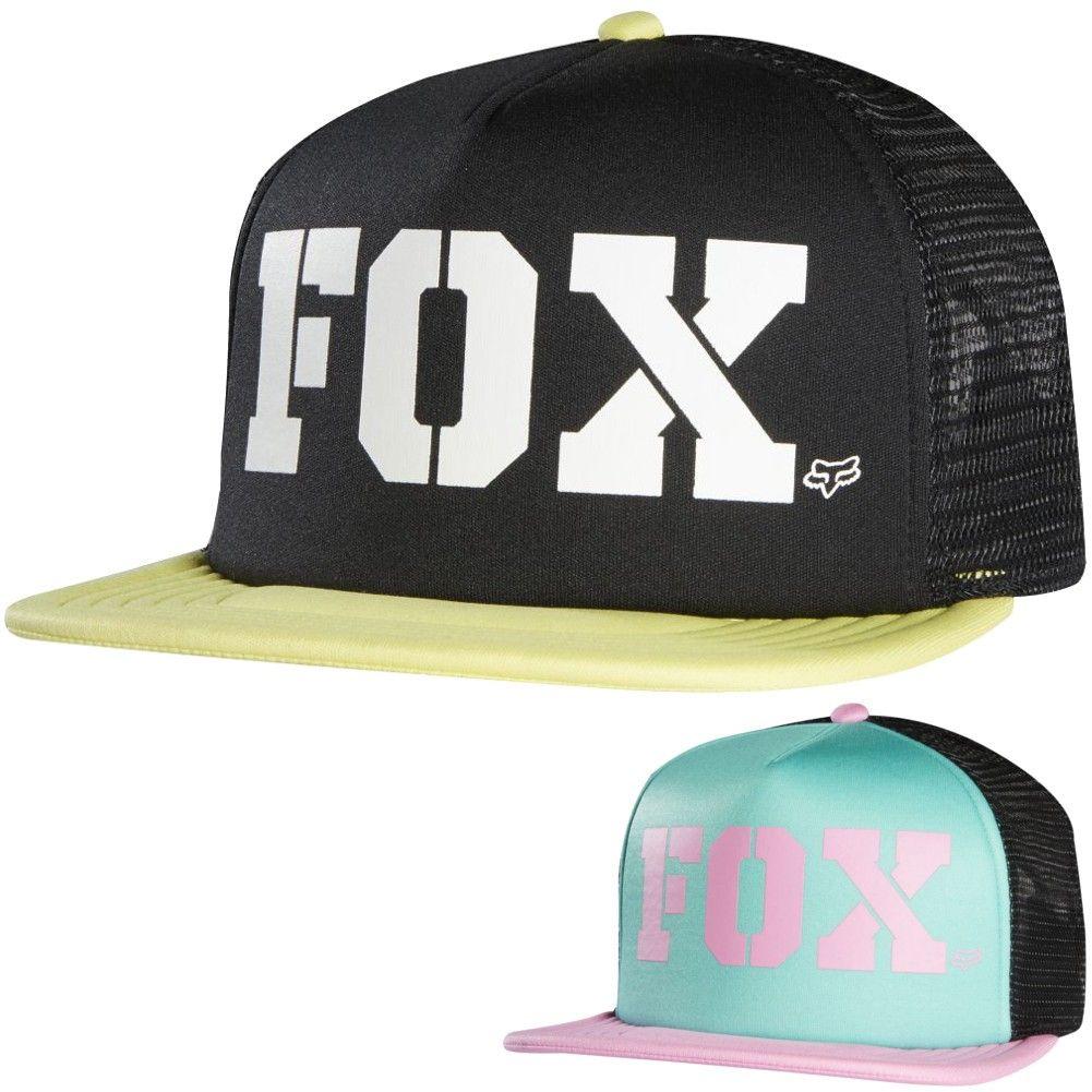 half off d4160 5f80a ... low cost 2015 fox racing womens vapors trucker adjustable snapback hat  ce719 01b26