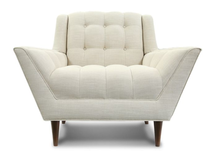 Chaise Sofa Nixon Chair and Ottoman Thrive Furniture Nixon Chairs u Nixon Ottoman in Cordova Amber