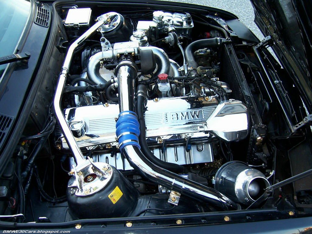 Bmw E30 With The Bmw 745 M106 Engine Its 4 5l E30 With