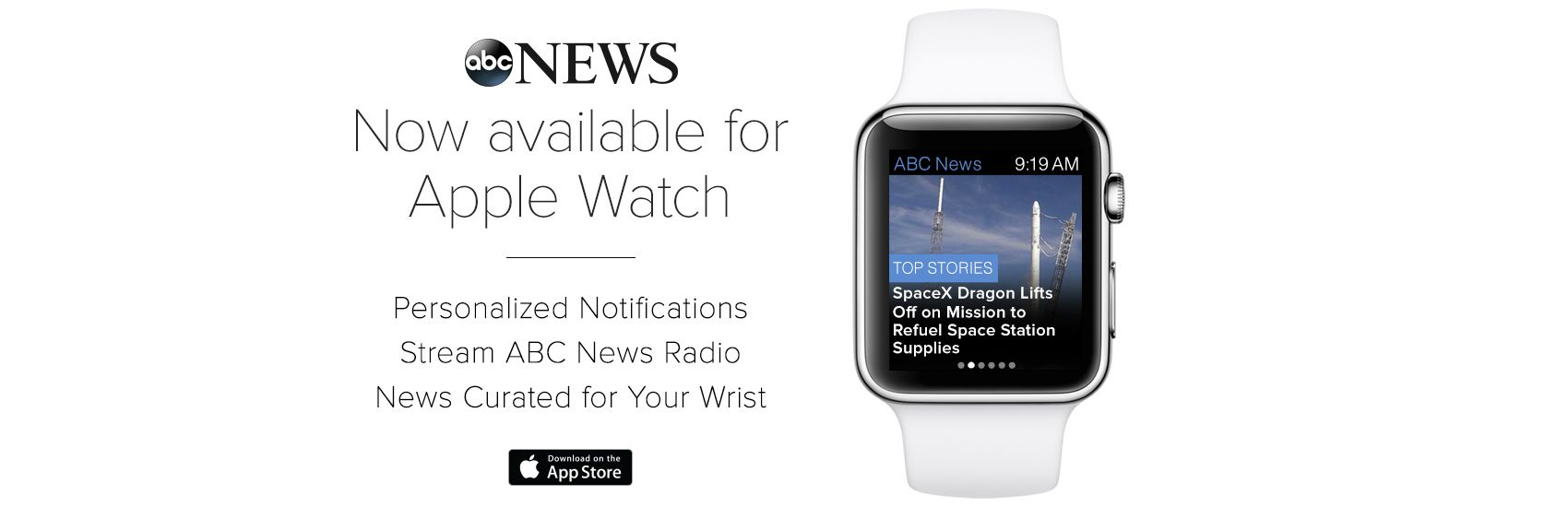 App for iPhone, Android & Windows Abc news, Android