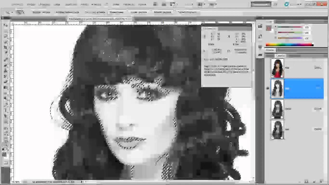 15 | Selecciones complejas con canales || Curso Adobe Photoshop CS5 ...