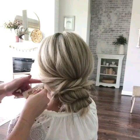 Hair Updo Tutorial -   16 hair Updos videos ideas