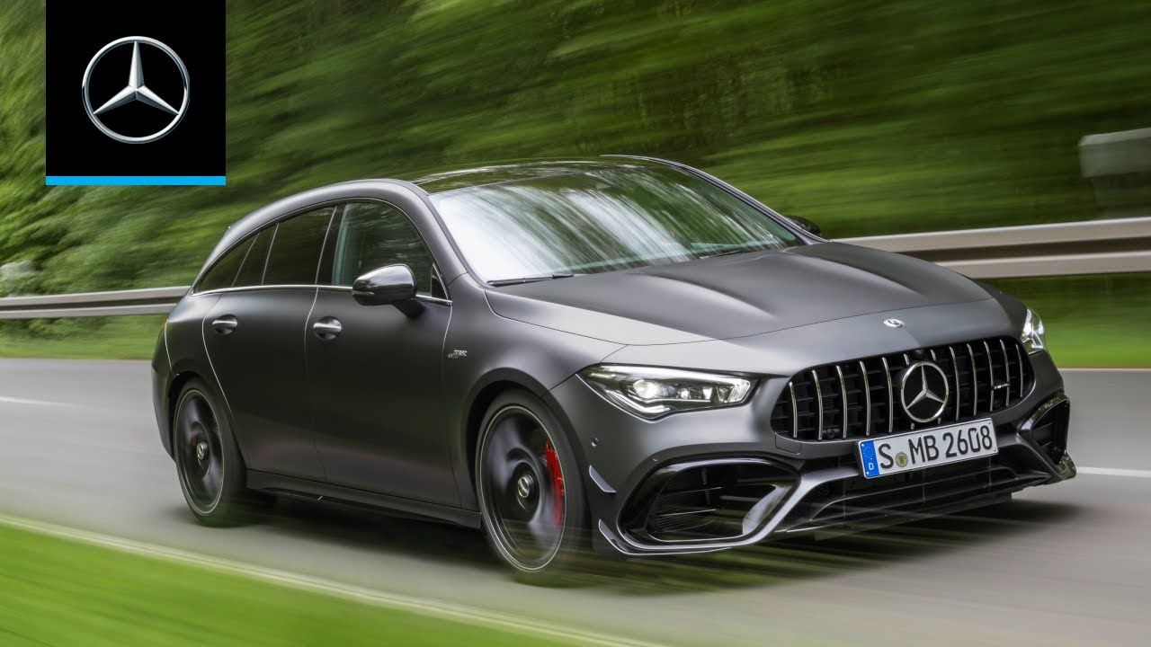 Mercedes Amg Cla 45 S 4matic Shooting Brake 2020 World