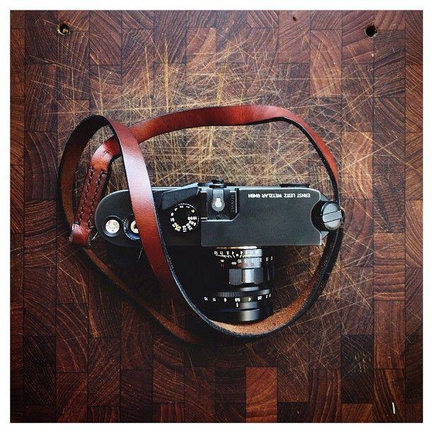 Leica & strap.