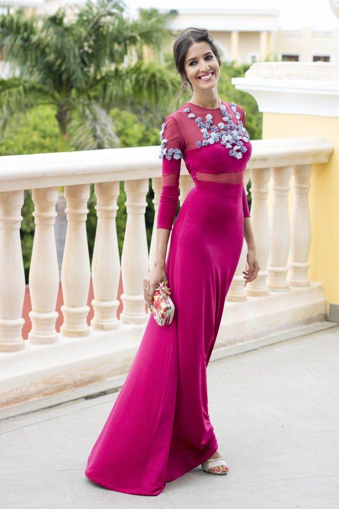invitada boda fernando claro costura vestido noche | All things ...