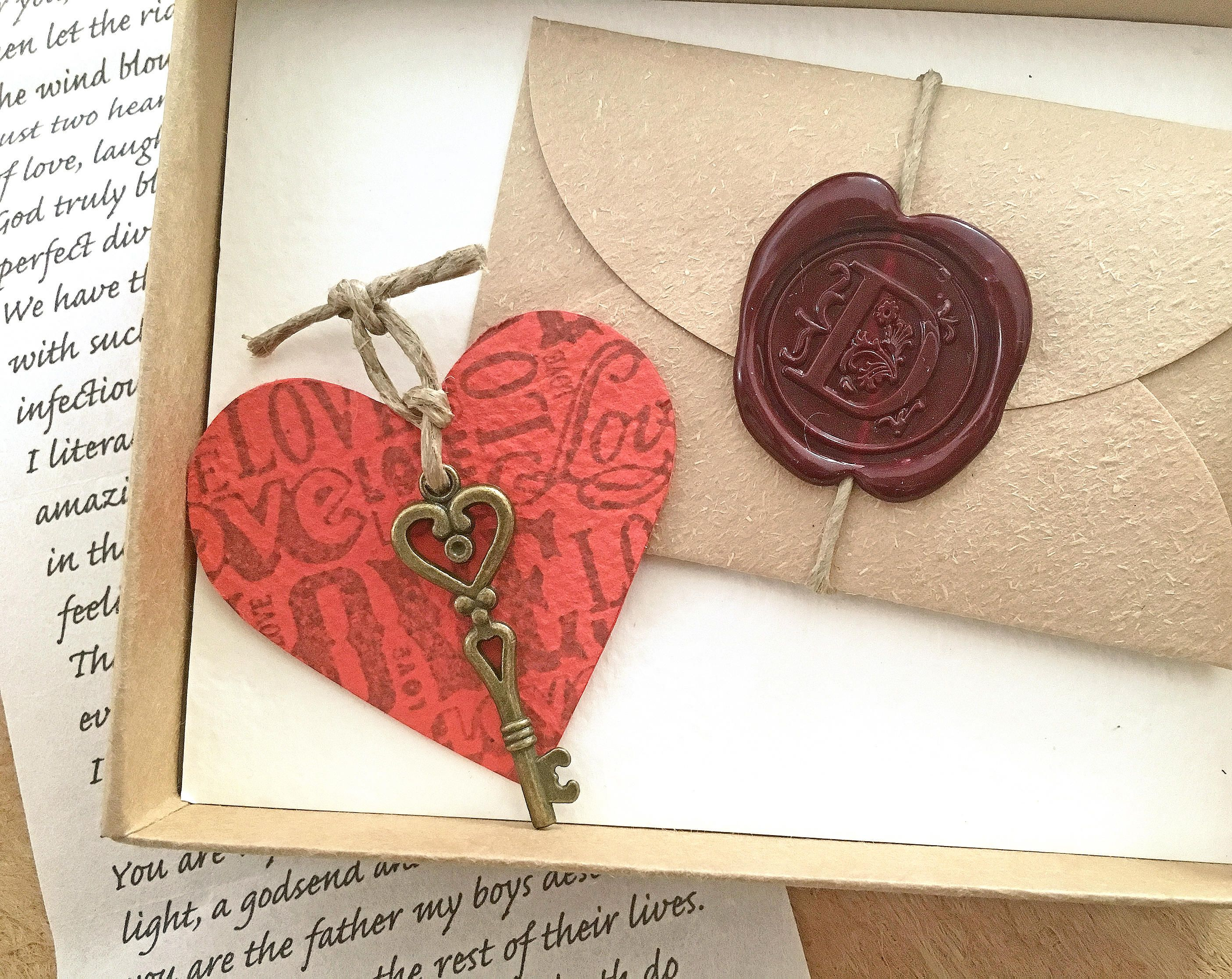 One year wedding anniversary gift ideas paper box