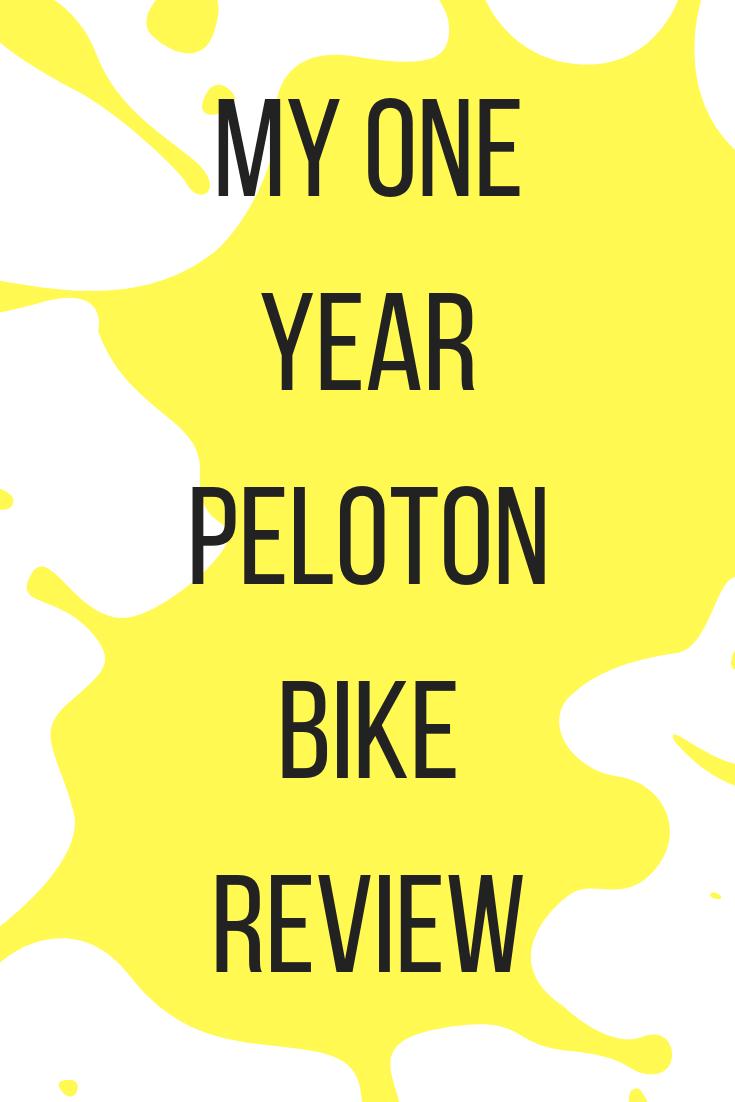 My 1 Year Peloton Review Peloton Bike Bike Reviews Peloton