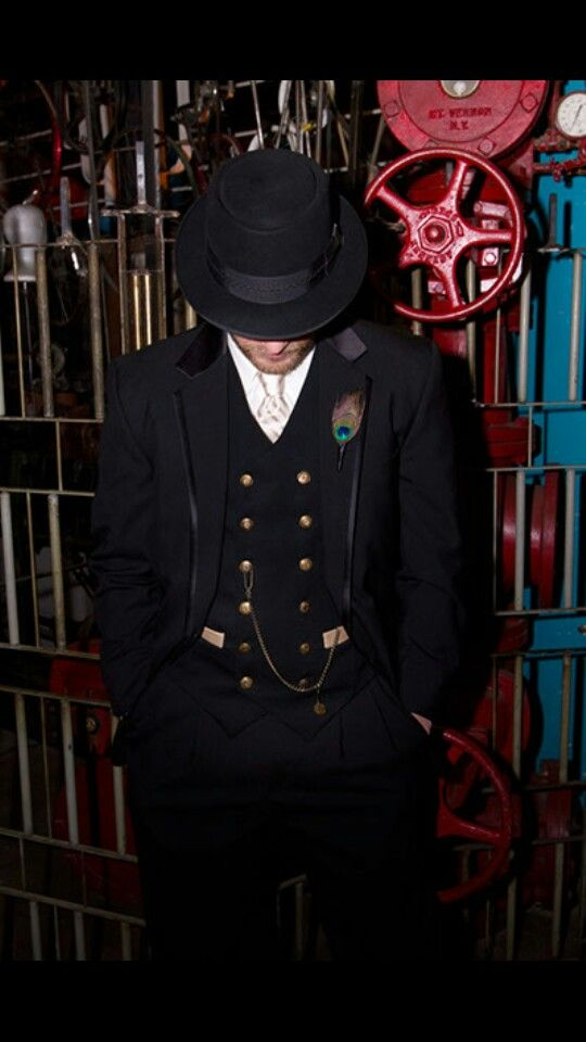 incredible prices better unique style Steampunk wedding suit in 2019   Steampunk wedding, Custom ...