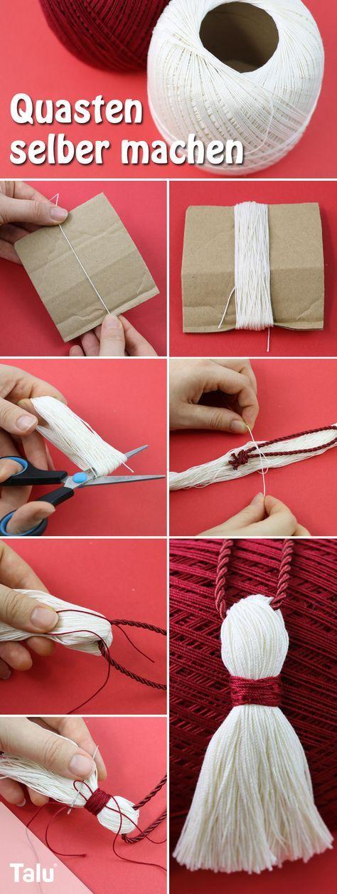 Haga borlas usted mismo – Instrucciones de bricolaje – Talu.de