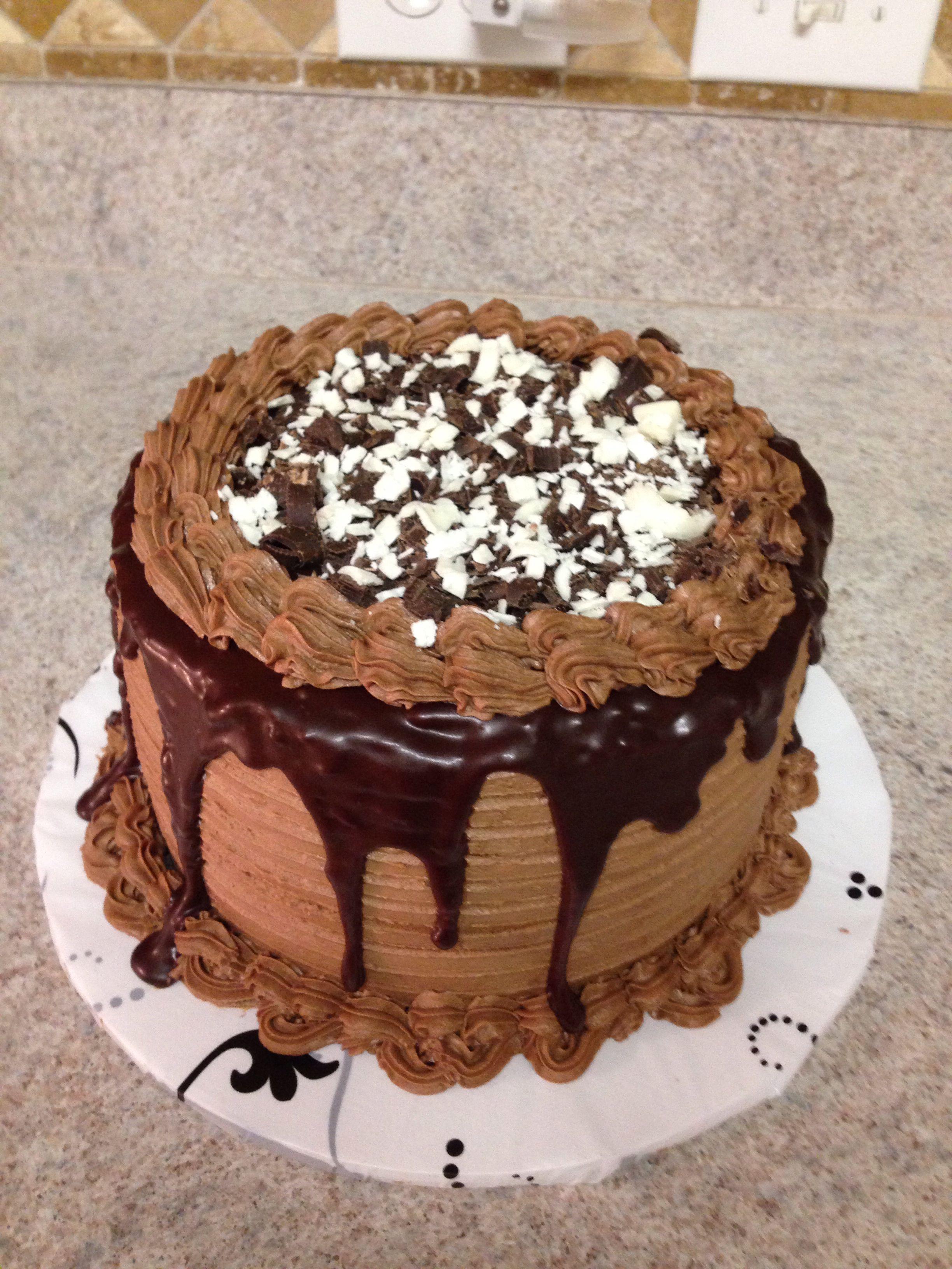 Chocolate ganache cake with images cake chocolate